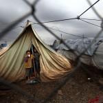 Siria, il dramma degli sfollati