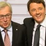 La rischiosa partita di Renzi in Europa