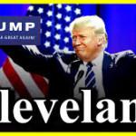 A Cleveland, Ohio, il trionfo di Trump
