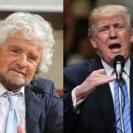 Grillo e Trump: un'affinità solo apparente