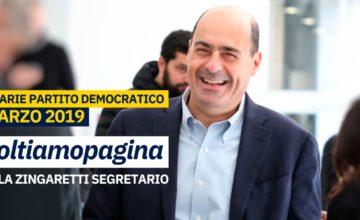 Zingaretti segretario: riparte il Pd, ma rimane sempre l'incognita Renzi