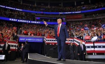 Ricomincio da Trump: «Keep America Great», via alla corsa 2020