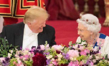 Dalla stessa parte della Storia: Trump ed Elisabetta, ecco l'asse USA-UK