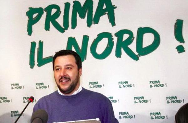 Vista da Sud la Lega (di Salvini) è sempre il partito del Nord